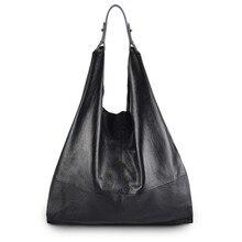 Новый женщин сумки на ремне Hobos дизайнерские сумки для женщин черный натуральная кожа спальные мешки дамы Bolso 1696 — 1