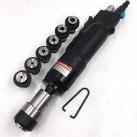 Air Pneumatic Tapping Machine 200rpm Hole Tapper Thread Drilling Tool+ 6pcs Chuck M3/M4/M5/(M6 8)/M10/M12 Universal Flexible Arm