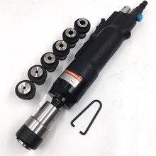 Aria Pneumatico Toccando Macchina 200 rpm Foro Tapper Filo di Perforazione Strumento + 6 pz Mandrino M3/M4/M5 /(M6 8) /M10/M12 Universale Braccio Flessibile