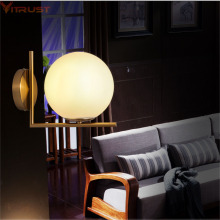 Vitrust Nordic LED Wall Lamp Bedside Lighting Mirror Lamps Bedroom lumiere interieur maison Porch wall sconce Modern Lights