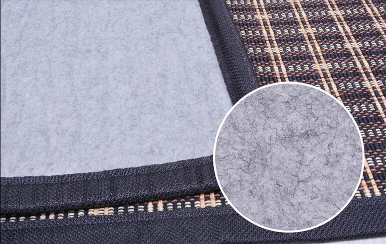 Japāņu grīdas bambusa paklāja spilventiņš ar lielu izmēru - Mājas tekstils - Foto 2