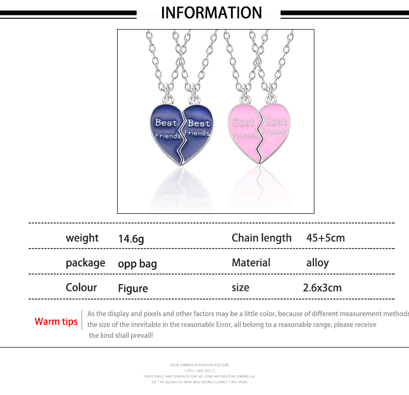 HTB1joYMXojrK1RkHFNRq6ySvpXaM - Best Friend Necklace Women Crystal Heart Tai Chi Crown Best Friends Forever Necklaces Pendants Friendship BFF Jewelry Collier