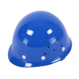 Image 5 - Frp安全ヘルメット建設保護ヘルメット抗スマッシングワークキャップ通気性労働エンジニアリング耐衝撃性ハード帽子