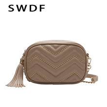 SWDF Flap for Women 2019 New Lady Leathe