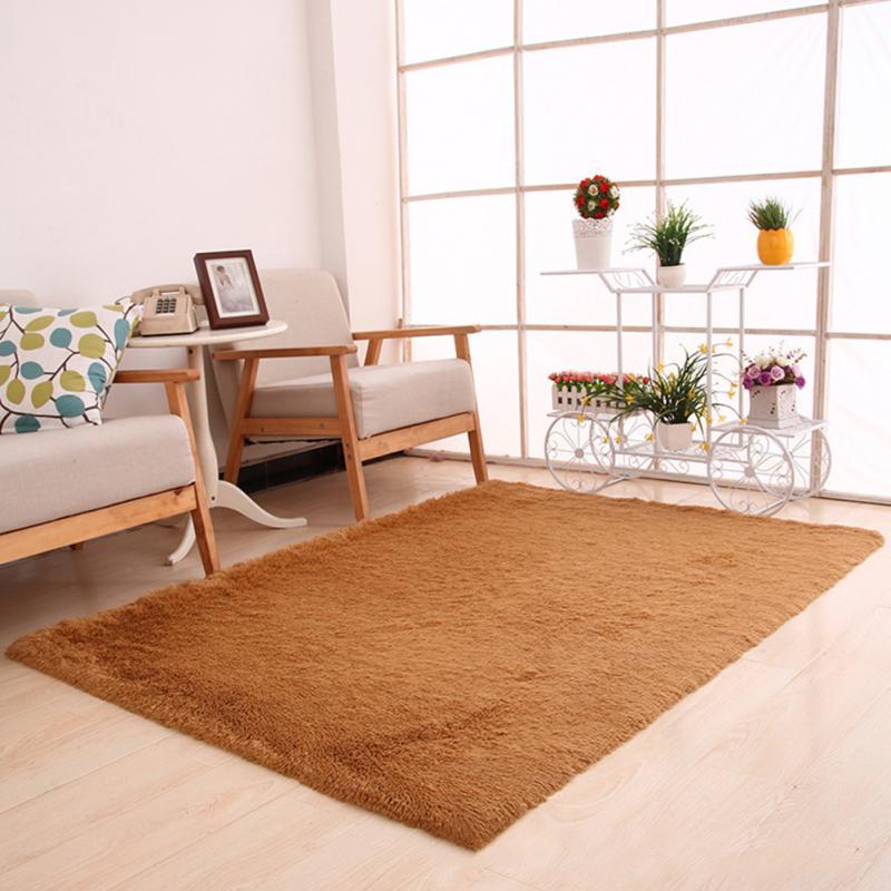 50*80cm Carpet Floor Bath Mat Suede Non Slip Mat Bathroom