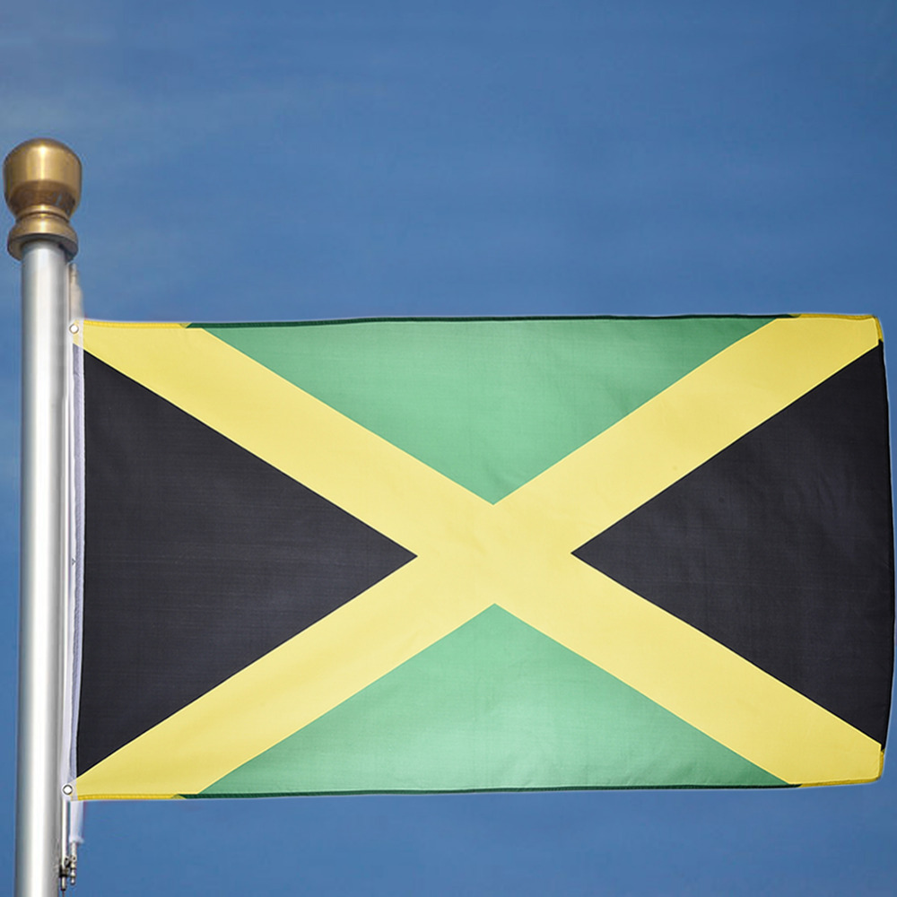 90*150cm Polyester Jamaica Flag Hanging Flag Outdoor Indoor Flag for ...