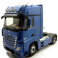 * Blue 1:18 NZG Actros FH25 Gigaspace 42 Truck Tractor Diecast Model Truck Alloy Toy