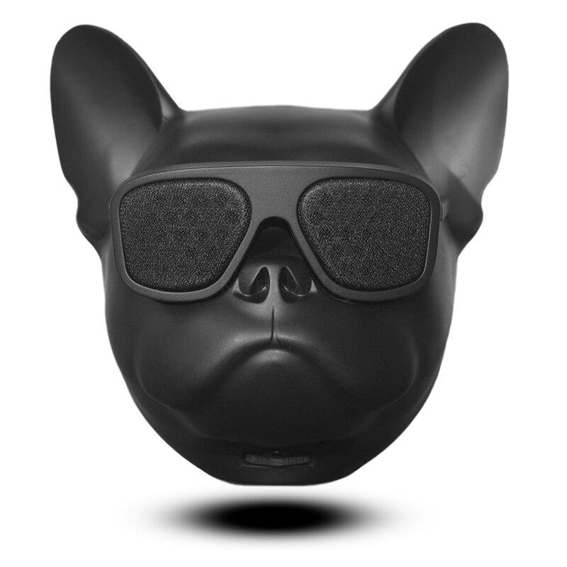 Bull Dog Portátil Sem Fio Bluetooth Speaker Mini Bluetooth 4.1 Estéreo de Alto-falantes Ao Ar Livre MP3 Para iPhone Xiao Presente Dos Desenhos Animados