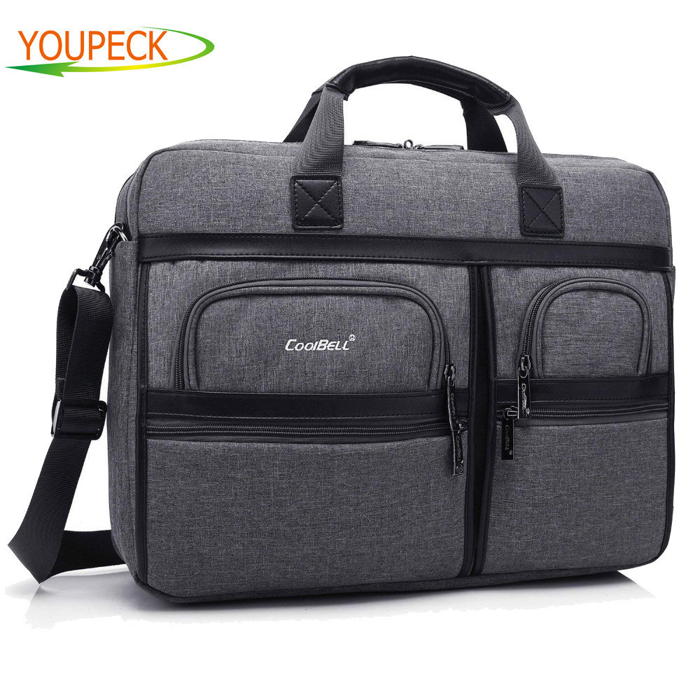 c8ed53d0a9e Fashion 17.3 17 15 15.6 inch Laptop Bag Notebook Computer Bag Waterproof Messenger  Shoulder Bag Men