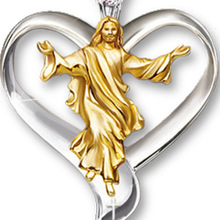 Ожерелье с подвеской в виде Иисуса