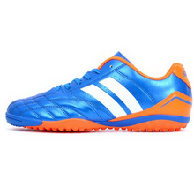 250302/Slip-resistant easy to bend shoes breathable sport shoes/Spring 2017 soccer shoes male high wear-resistant /