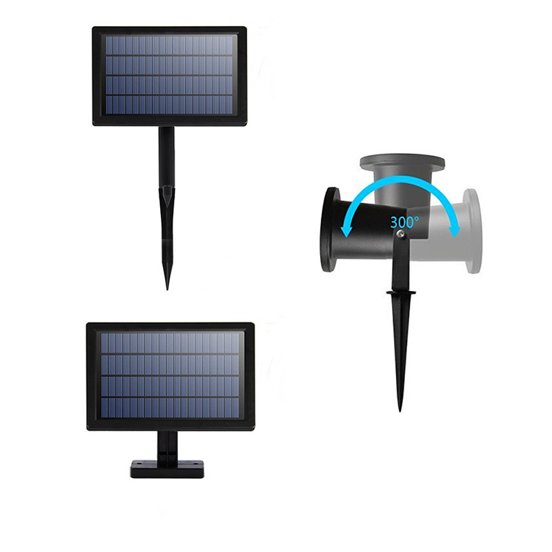 dcoo luz laser projetor solar holofotes 2led 02