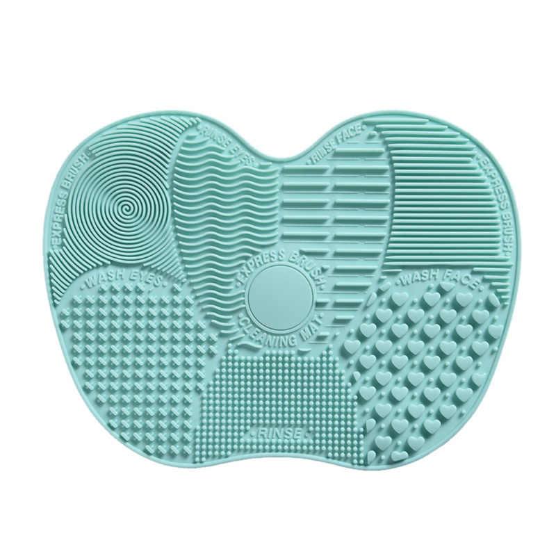 Najnowszy silikonowy czyścik do pędzli do makijażu kosmetycznego szczotka do mycia żel mata do czyszczenia fundacja Make-Up szczotka do czyszczenia podkładka pokładzie gorąca sprzedaż