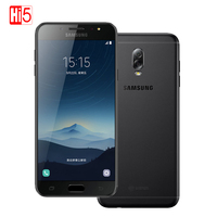 Unlocked Original Samsung Galaxy C8 SM C7100 3G RAM 32G ROM 16MP Front Camera Dual Sim