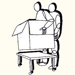 Free Shipping The Flyging Box Illusion --Magic Trick, Fun Magic, Party Magic.