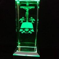 Angel Jesus Laser Inside Table Lamps Amazing 3D Night Light Baby Sleep Lighting Amzing Gifts