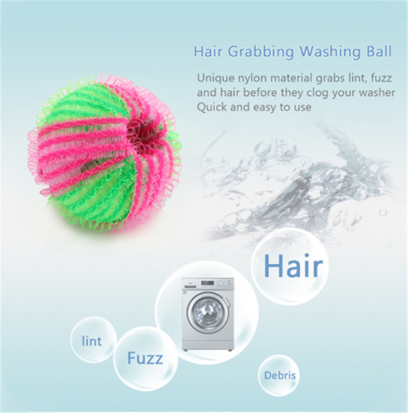 Floating Pet Fur Catcher Reusable Washing Ball 8 Pcs Magic Laundry Ball Hair Removal Clothe Hair Ball Washing Machine Cleaning in Laundry Balls Discs from Home Garden