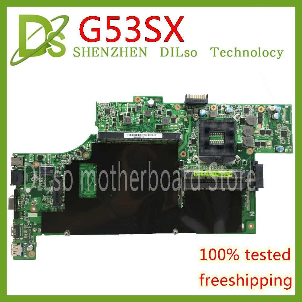 KEFU G53SX For ASUS G53S G53SW VX7 VX7S mainboard 4 slots
