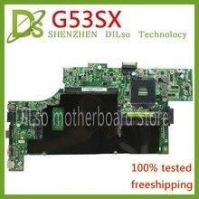 KEFU G53SX pour ASUS G53S G53SW VX7 VX7S carte mère 4 emplacements RAM ordinateur portable carte mère REV2.0 Test work 100%