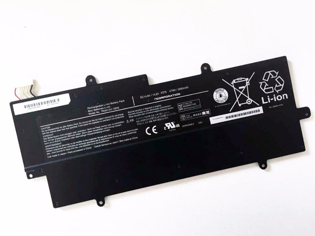 Nova bateria para toshiba portege z835 z830 z930 z935 ultrabook pa5013u-1brs baterias akku 3060 mah 14.8 v 47wh
