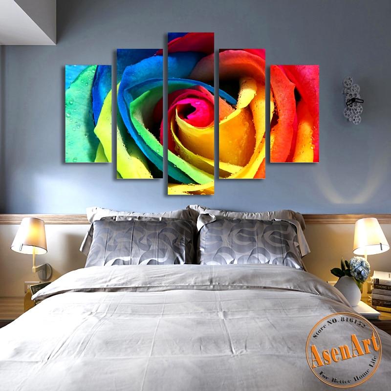 acquista all'ingrosso online camera da letto combinazione di ... - Combinazione Di Colori Per Le Immagini Pareti Camera Da Letto