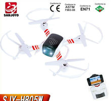 Free Shipping WIFI Controlled RC drone With Transmitter 2.4Ghz Helicopter wifi control 4CH quadcopter SJY-H805W vsV262 V959 V666