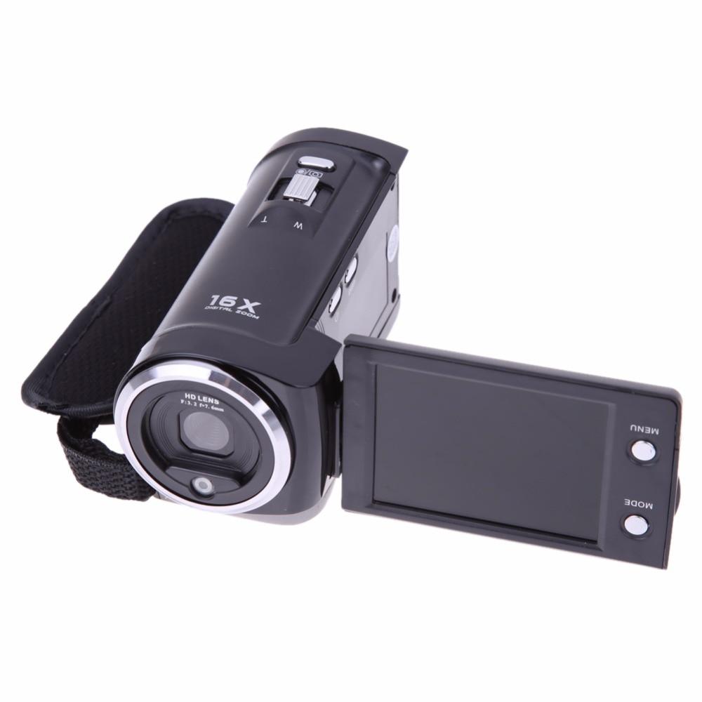 Numérique Caméra Vidéo Enregistreur HD 16MP Caméscope DV DVR 2.7 TFT LCD 16x Zoom US Plug