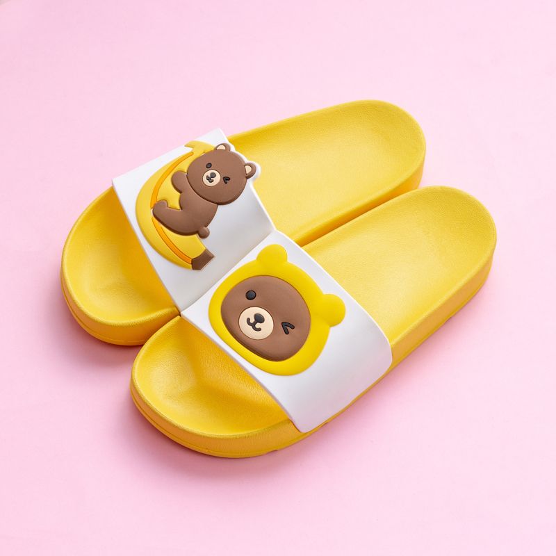 Cartoon Bear Rabbit Slides Women Summer Slippers Fruits Strawberry Banana Panda Home Slippers Sandals Women Shoes Flip Flops 5