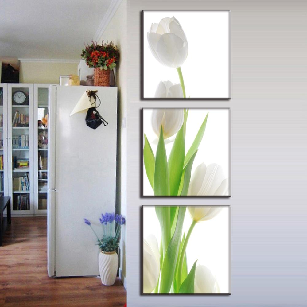 Unframed 3 Panel Hot Sell Modern Home Decor Wall Painting