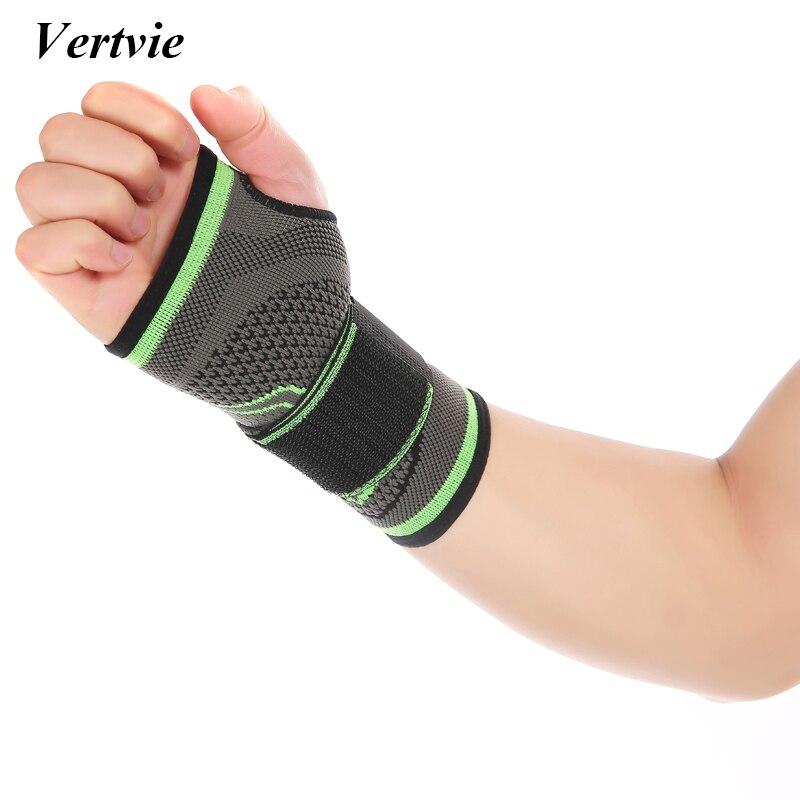 Vertvie Профессиональный Фитнес Тяжёлая атлетика защита ладони Детская безопасность Поддержка дышащие мягкие регулируемые повязки Training handbands