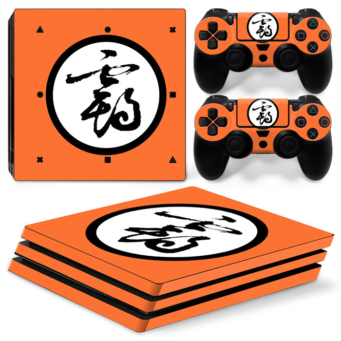 Factory supplied drop shipping vinyl decal skin for PS4 PRO console game sticker