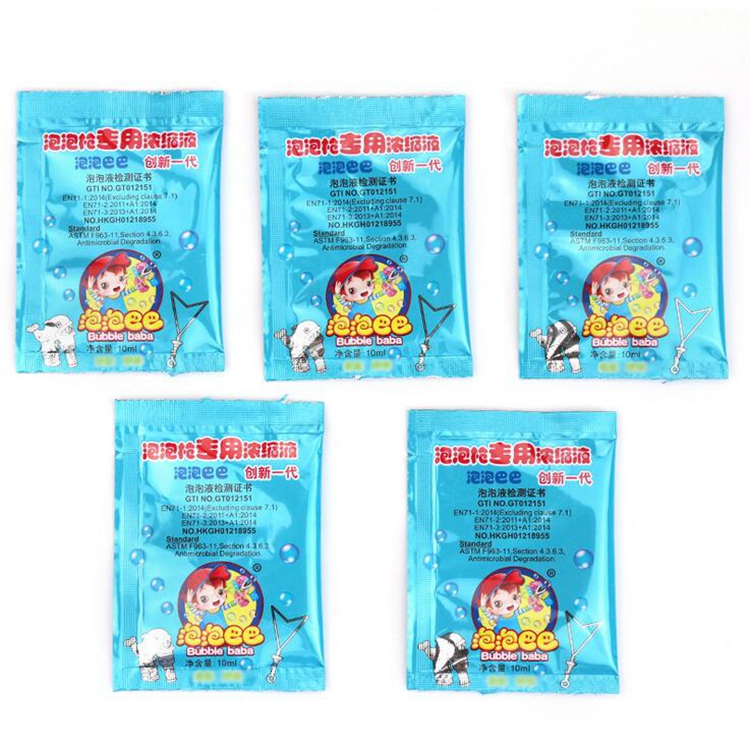 Water Bubble Soap Liquid Blowing Toys Bubble Water Concentrate Soap Bubbling Materials 10ml For Bubbles Gun Refills