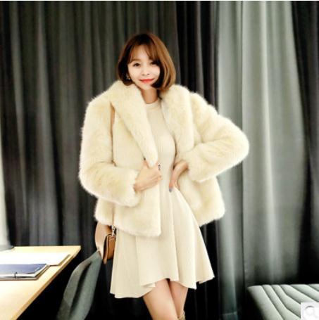 Femme Femmes Manteau À Capuchon Hiver Pour Chaud Couleur Les White Blanc S Fourrure Dames Automne Vestes xl De Outwears Faux J2609 Aq4pxw