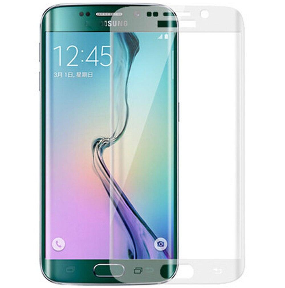 Clear <font><b>Curved</b></font> <font><b>Tempered</b></font> <font><b>Glass</b></font> Screen Protector <font><b>For</b></font> <font><b>Samsung</b></font> <font><b>Galaxy</b></font> S6 Edge G925 G925F G925A Full Cover Translucent Protective <font><b>Glass</b></font>