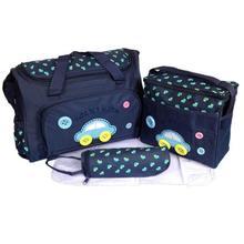4pcs/Set Mother Diaper wet stroller bag travel baby bag set maternity bags baby mummy nappy backpack handbags for moms Tote