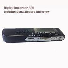 Professional Mini 8GB Digital Hidden Voice Recorder USB Flash Driver MP3 Player Portable Audio recorder Battery Power Dictaphone