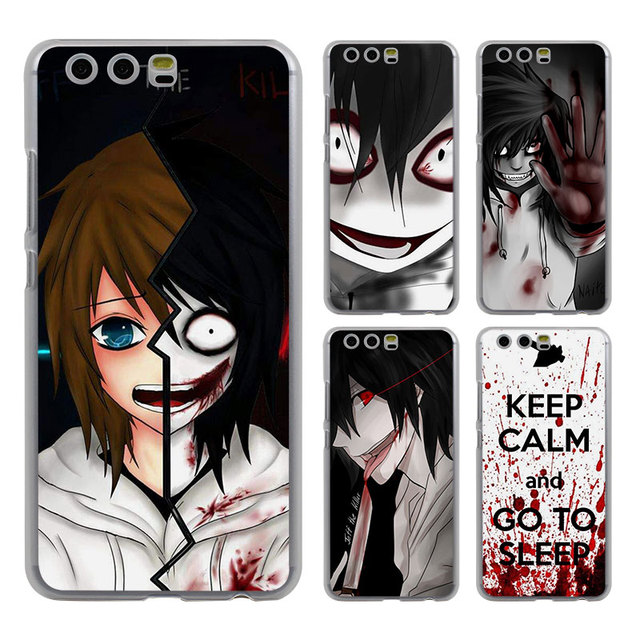 Anime Jeff Die Killer Style Klar Handyfallabdeckung Fur Huawei P10 P9 Lite Plus P8 Ascend