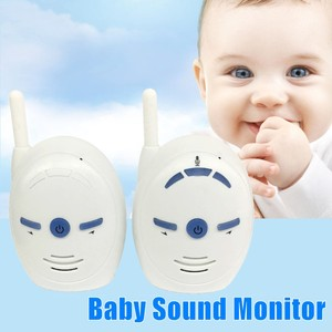 Image 2 - Monitor de Audio Digital portátil para bebé, 2,4 GHz, V20, Radio bidireccional, monitoreo por voz, alarma de llanto, Monitor con sonido para bebé