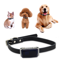 Cute Dog GPS Tracker G12 for Pets Real time Tracking Waterproof IP67 Two way Talk LBS+GPS+AGPS+Wifi Location Geo fence Free APP