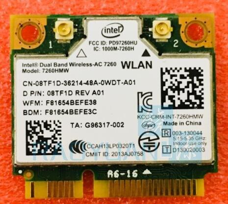 BIG SALE] New Dual Band Wireless AC 7260 Intel 7260HMW