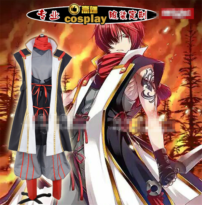 Anime FGO Fate Grand Order Assassin Fuuma Koutarou Cosplay Costume Woman Man Hot Sale Custom Made Clothing