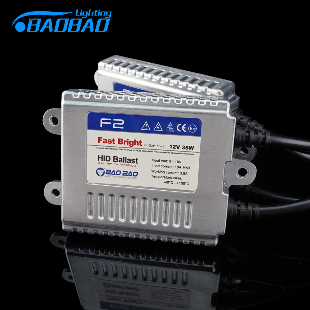 BAOBAO Fast start F2 Car AC Full Digital Headlight Ballast 35W HID Xenon Kit For Car