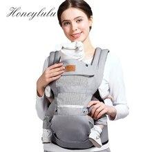 Honeylulu Adjustable Crotch Baby Carrier Four Seasons Sling For Newborns Kangaroo Hipseat Ergoryukzak Backpack