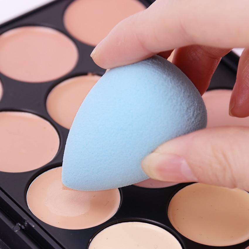 3PCS Mini Beauty Soft Makeup Sponge Puff Face Nose Facial Foundation Base Liquid Powder Blending Water Drop Shape Cosmetic Tool