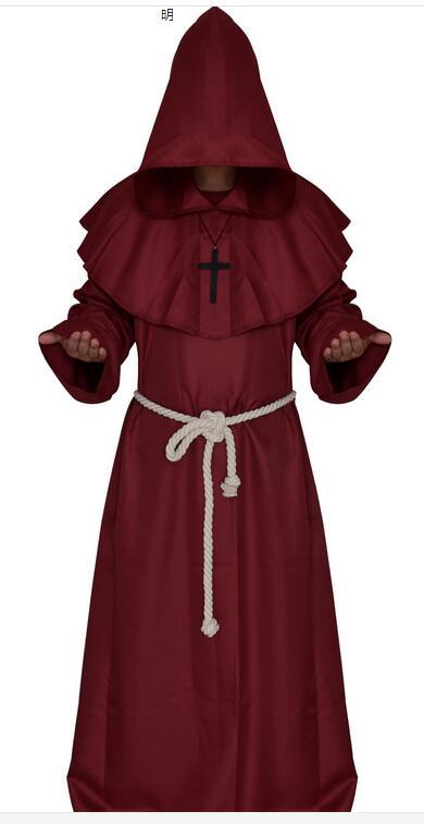 LIVRARE GRATUITĂ Călugăriță Călugăriță Haină Cloak Cape - Costume carnaval - Fotografie 6