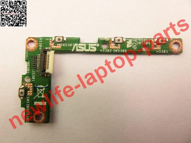 Original para asus transformer book t100 t100ta t100tal placa de placa de controle de volume interruptor on off poder botton t100tal_sw_4l