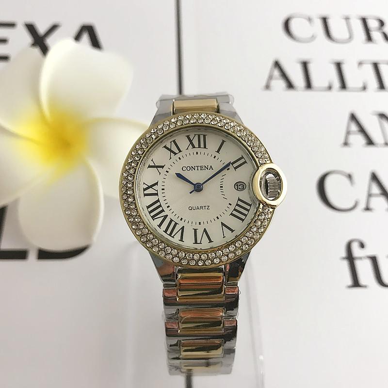 4a167315d40a Часы наручные часы Серебряные часы Женщины Золотые часы Мужчины Женские  часы Часы Женщина Ударопрочный водонепроницаемый часы