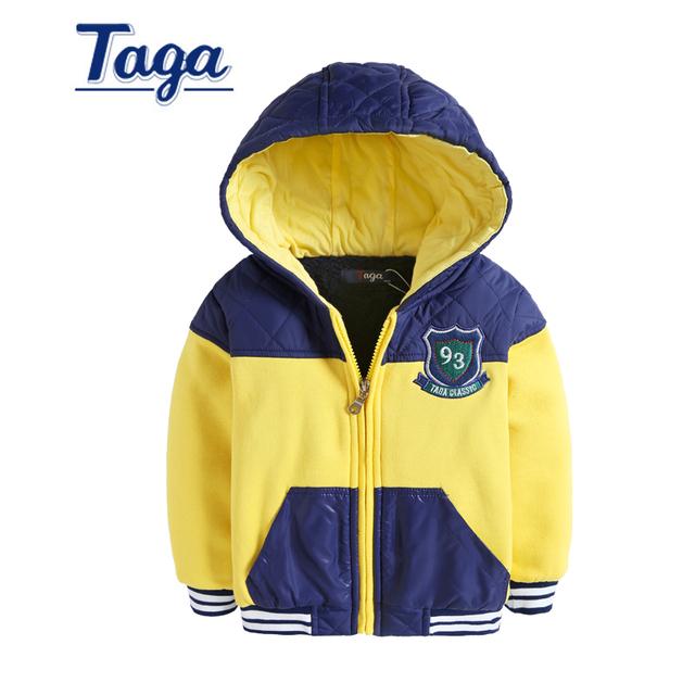 De alta calidad primavera otoño caliente chaqueta de invierno para niños Patchwork patrón de la capa a prueba de viento impermeable forro polar al aire libre 3-14Y