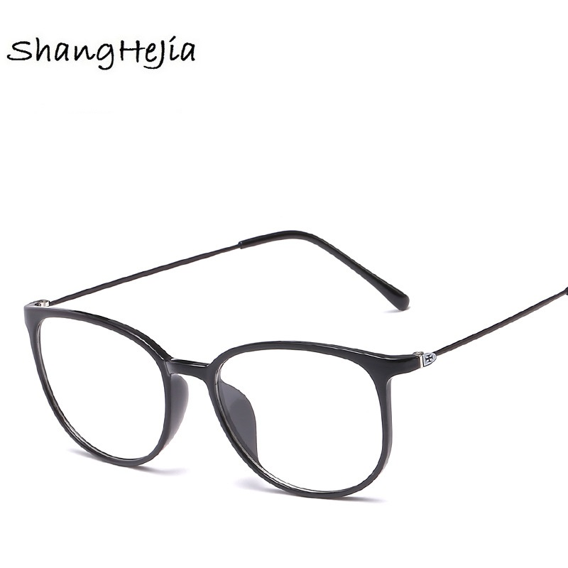 2019 Ultralight TR90 Frame Eyeglasses Fashion Brand Men Frame Optical Glasses Spectacles Vintage Women Prescription Eyewear