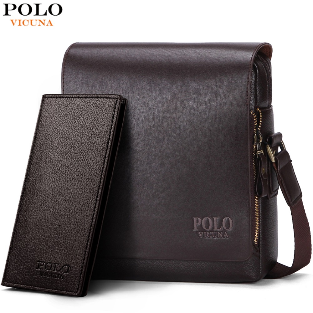 VICUNA POLO New Arrival Fashion Business Leather Men Messenger Bags Promotional Small Crossbody Shoulder Bag Casual Man BagVICUNA POLO New Arrival Fashion Business Leather Men Messenger Bags Promotional Small Crossbody Shoulder Bag Casual Man Bag